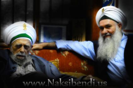Sulthanul Awliya MAwlana Shaykh Nazim Al-Haqqani (Q.S) and Waliyullahi Sahibu Saif Hazret Shaykh Abdul Kerim Al-Kibrisi (Q.S)