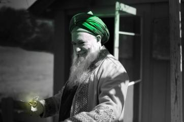 Saint of Allah Sahibu Saif Shaykh Abdul Kerim Al-Kibrisi (Q.S)