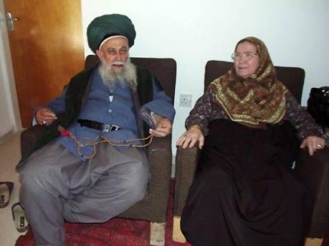 Sulthan of Saints Mawlana Shaykh Nazim Al-Haqqani (Q.S) and his Wife Saint of Allah Hajjah Aminah (Q.S)
