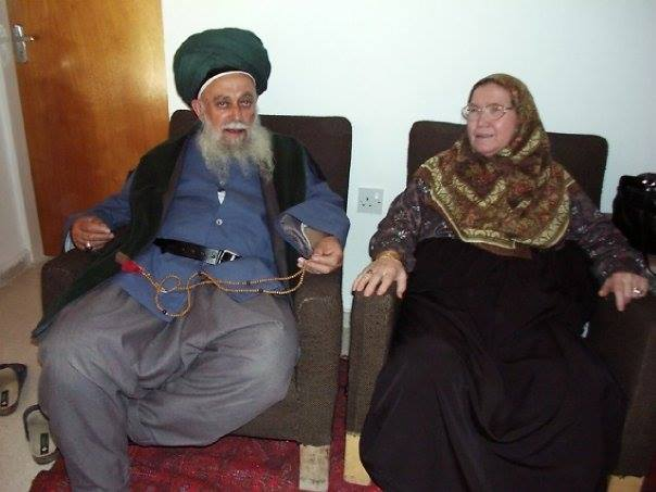 Sulthan of Saints Mawlana Shaykh Nazim Al-Haqqani (Q.S) and his Wife Saint of Allah Hajjah Aminah (Q.S)