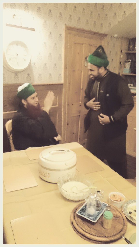 Jouhar Ali Naqshbandi Al Hassani and Hazrat Khwajah Sufi Mahmood Arshadi Aslami (R.T.A), 2015, 23 May ,Luton