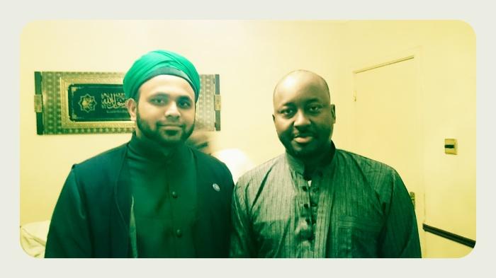 Jouhar Ali Naqshbandi Al-Hassani and Shaykh Abdul Malik Niass (Rahimahullah)