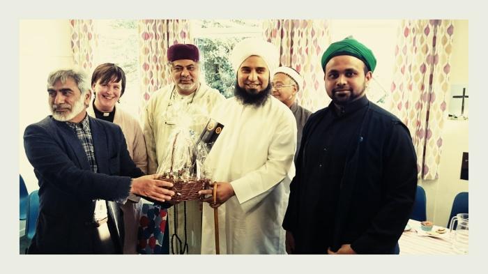 Jouhar Ali Naqshbandi Al-Hassani with Shaykh Habib Ali Jifri (Q.S) , April 10.2015 ,Kimpton Church ,Hertfordshire