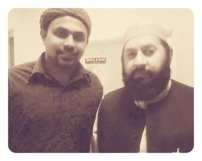 Jouhar Ali Naqshbandi Al Hassani and Shaykh Fiaz ul Hassan Sarwari Qadri (Q.S), Luton,2011