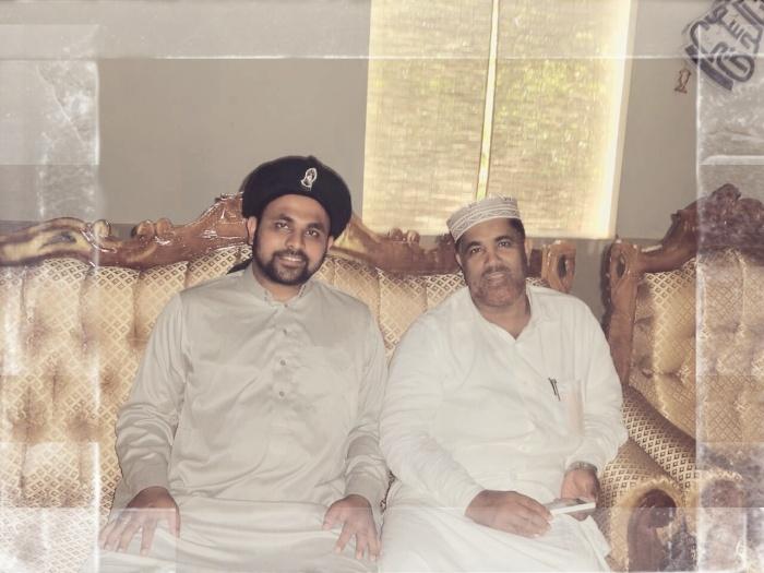 Jouhar Ali Naqshbandi Al Hassani and Shaykh Muhammad Faizy Dasuqi (Rahimahullah), Kerala, Malabar,India.